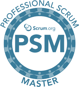 Logo Professional Scrum Master course