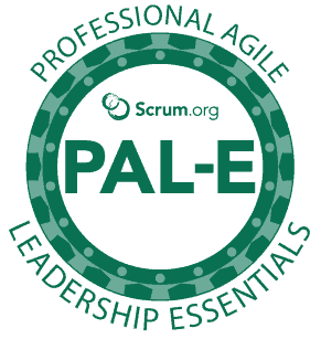 Course logo Professonal Agile Leadership