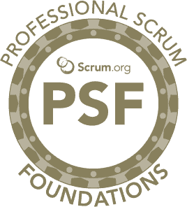 Course logo Professional Scrum Foundations
